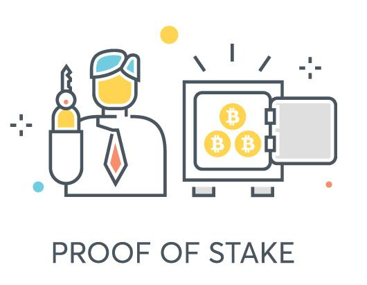 Proof of Stake illustration - easy way to earning passive income crypto