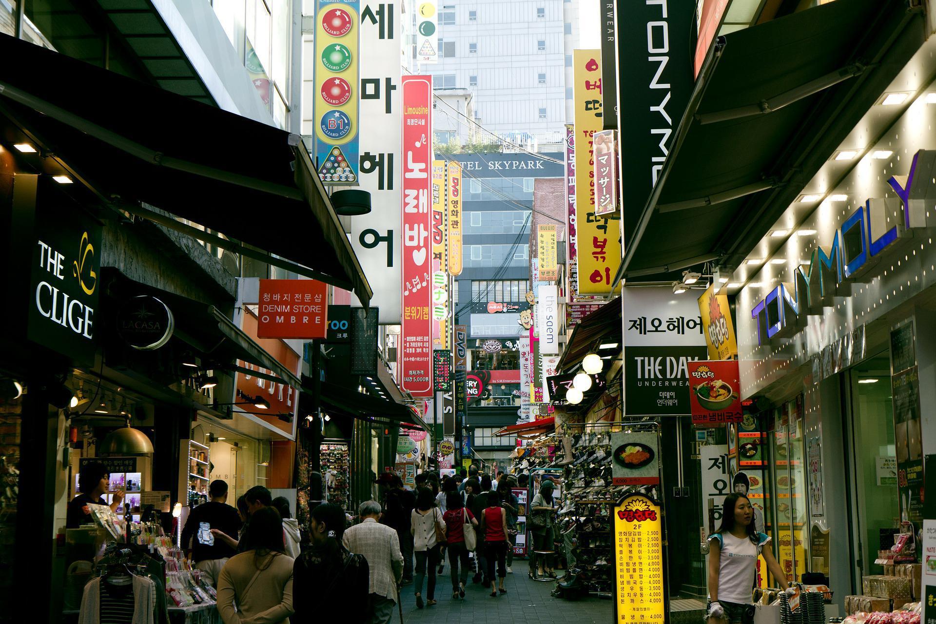 South Korean market