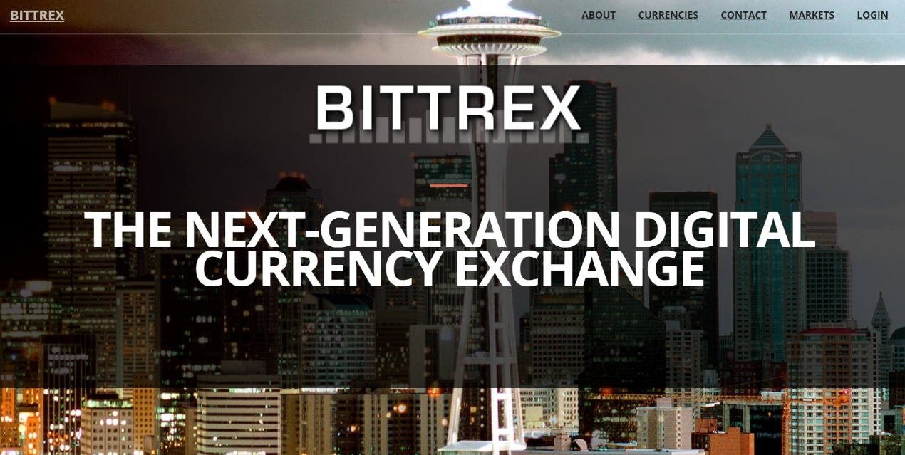 Bittrex Cryptocurrency Exchange