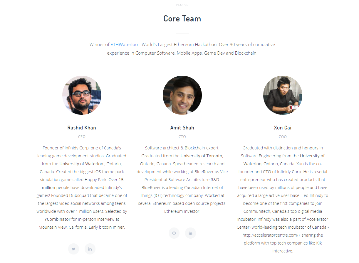 GoNetwork Core Team