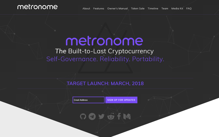Metronome Website