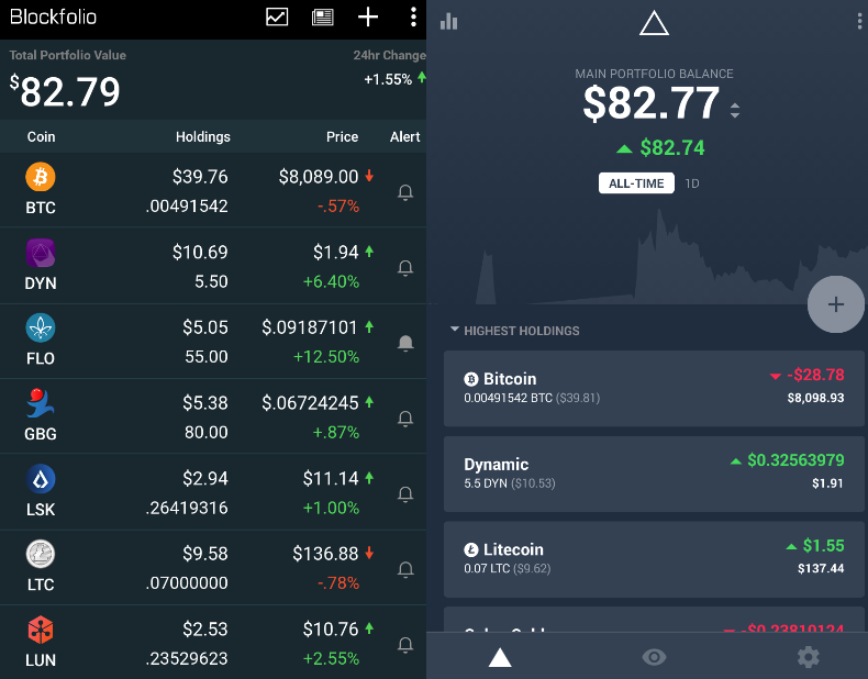best app for cryptocurrency portfolio