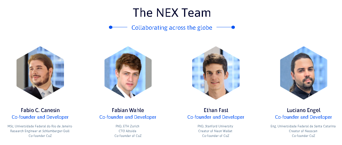 Neon Exchange Team