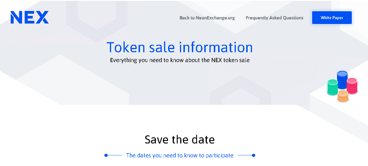 Neon Exchange Token Sale
