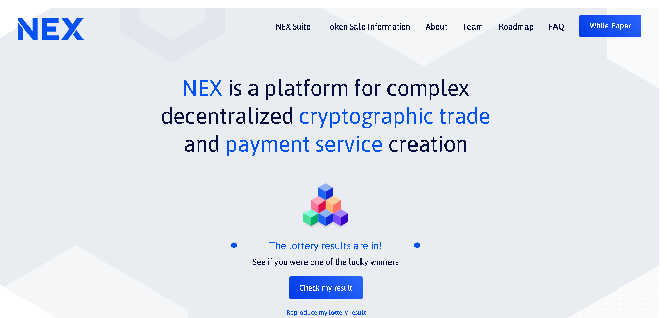 Neon Exchange Website