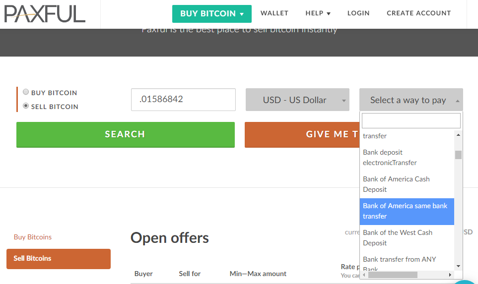 buy and transfer bitcoin