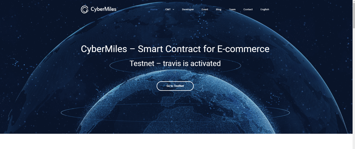 CyberMiles Website