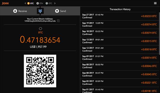 Jaxx App Transaction