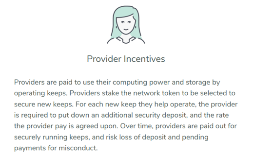 Keep Provider Incentives