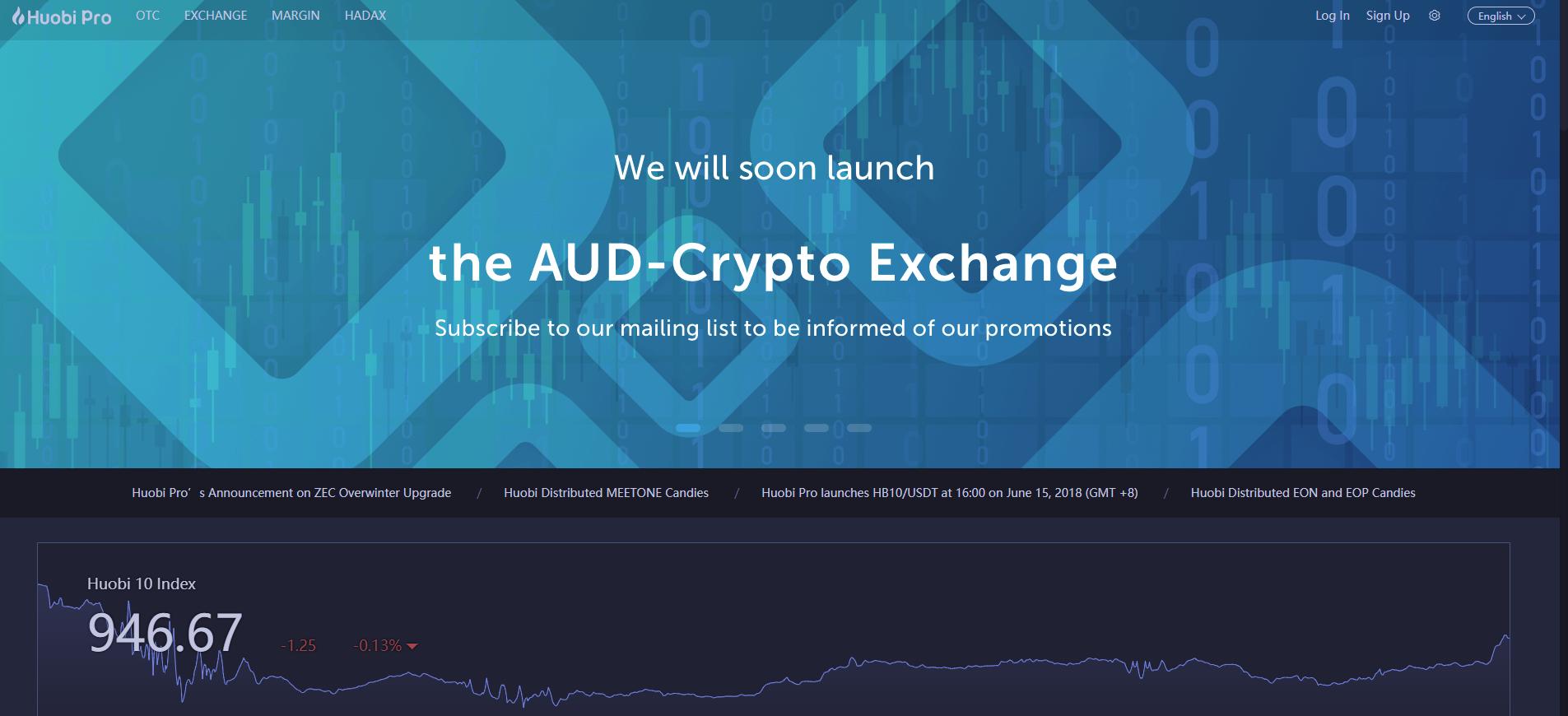Huobi Pro Exchange