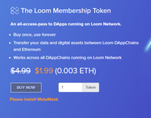 Loom Network Membership Token