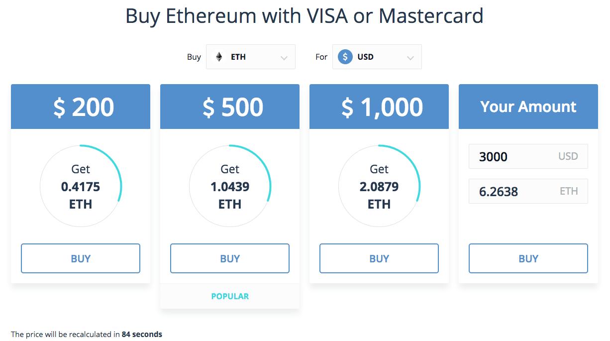 buy ethereum immediately