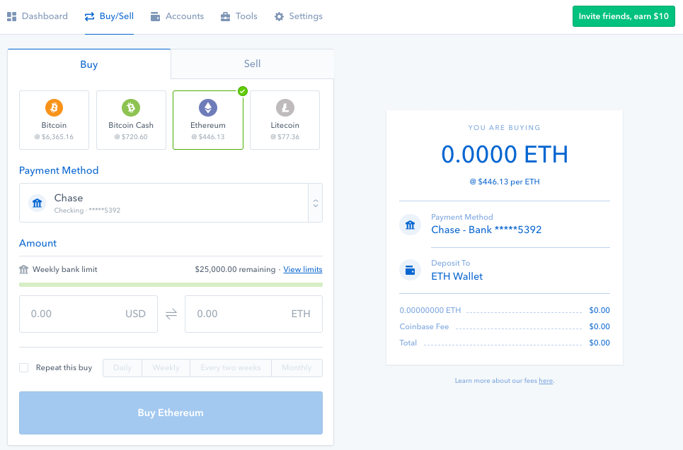 largest cryptocurrency selling site