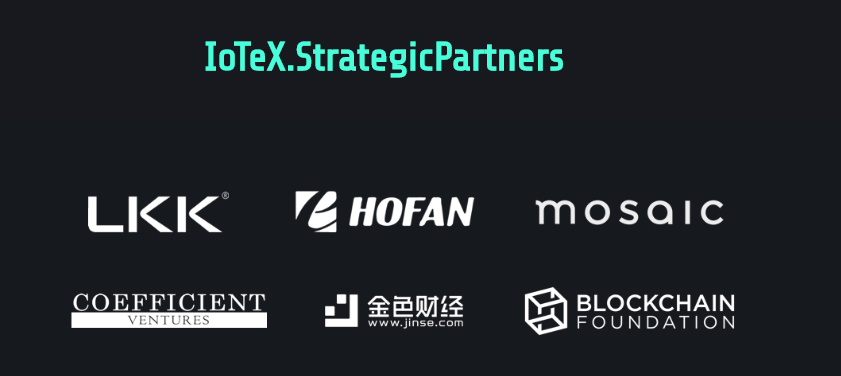 IoTex Strategic Partners