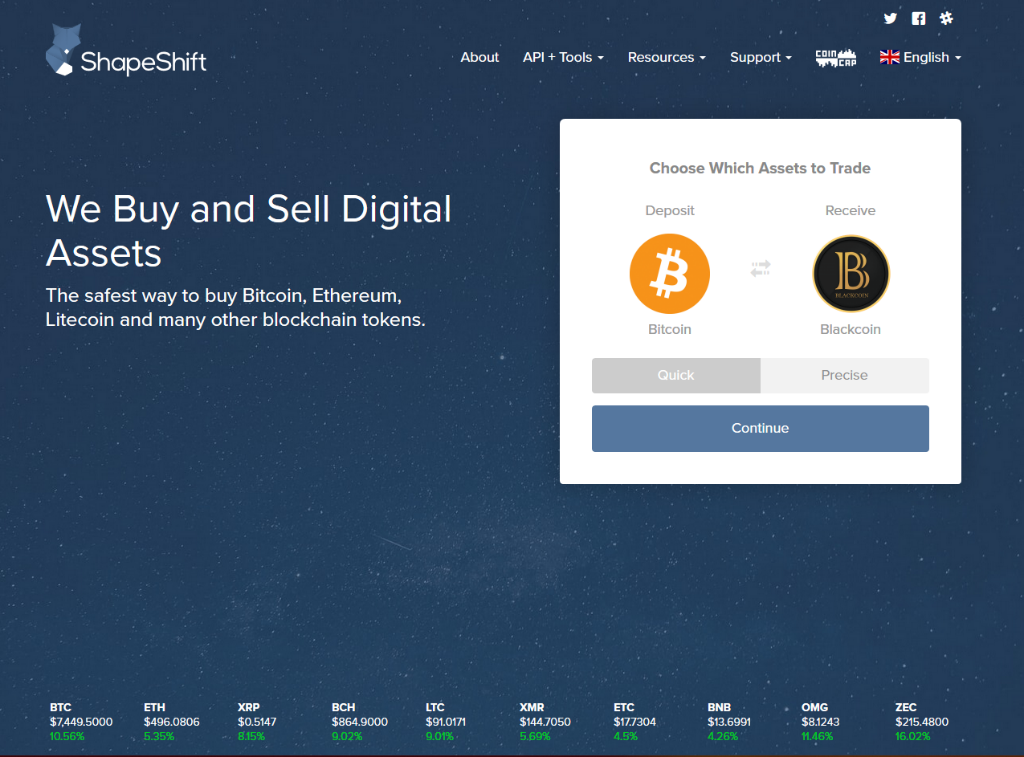 5 ways to buy bitcoin and ethereum anonymously with no id chainbits to get started you simply choose the cryptocurrency you wish to deposit and which coin you wish to receive in exchange once selected youll be asked to ccuart Gallery
