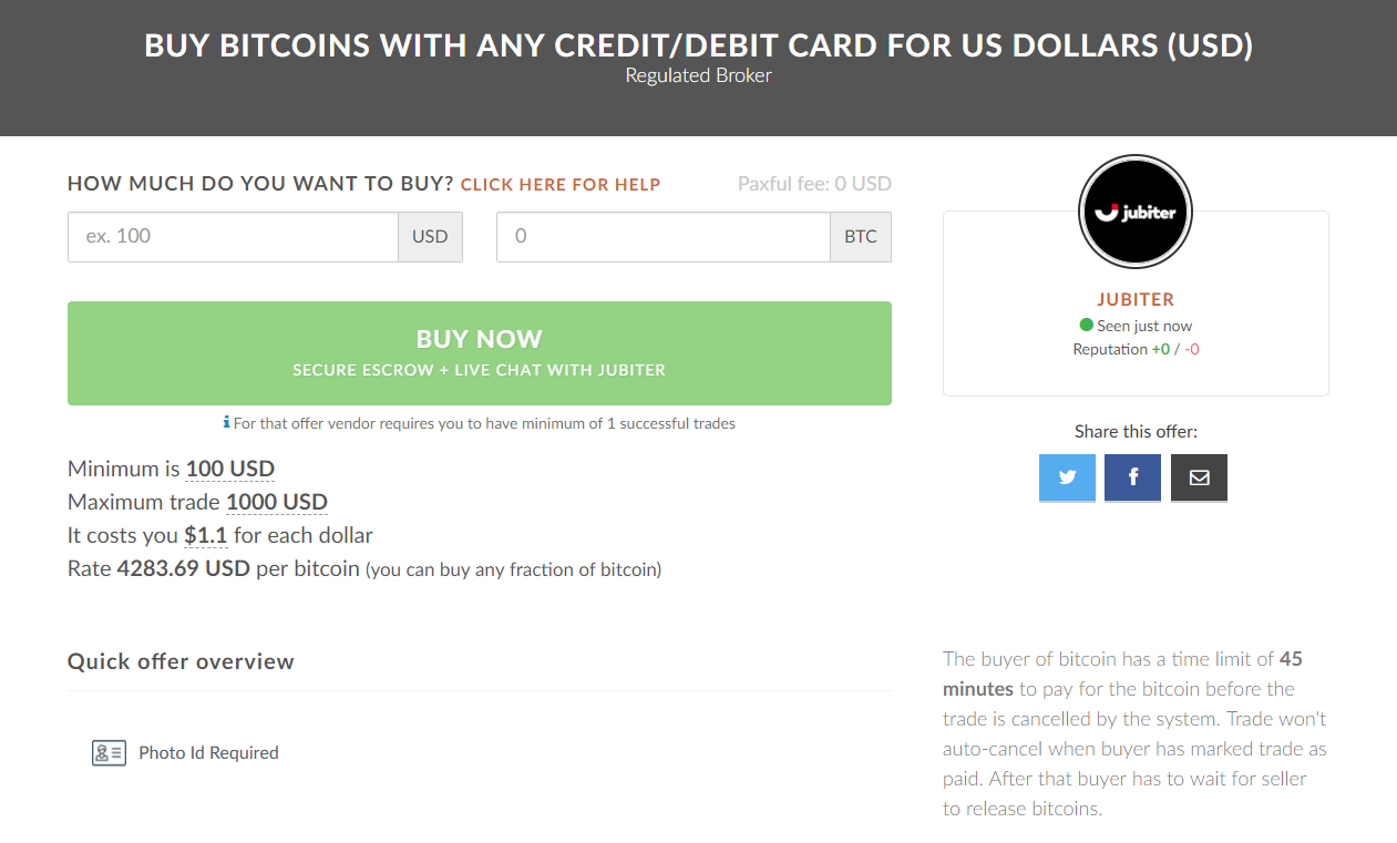 buy bitcoin with credit card paxful