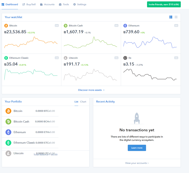 coinbase total users