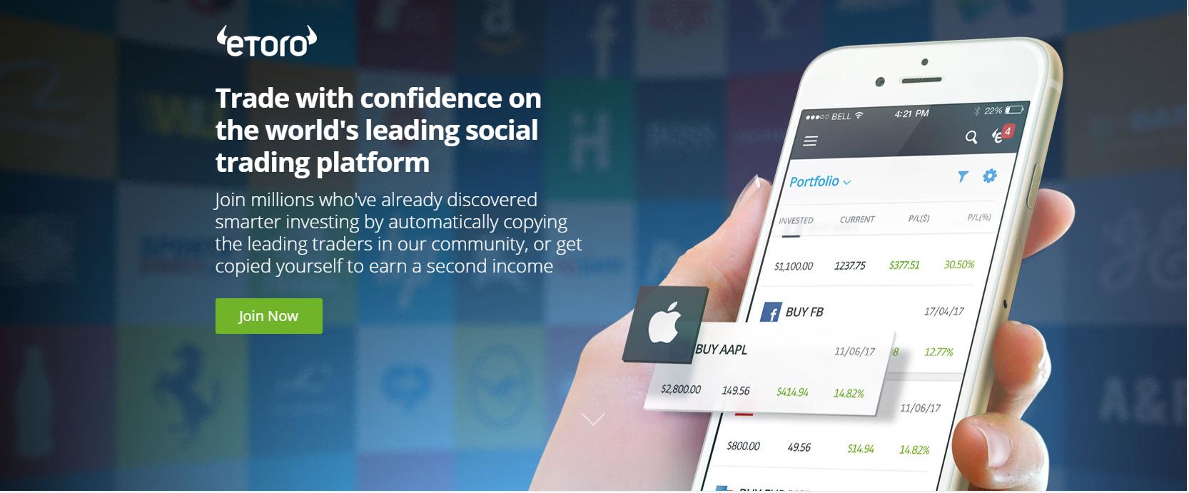 Social Trading Platform eToro